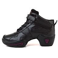Sapatos de Dança(Preto / Rosa) -Feminino-Personalizável-Tênis de Dança