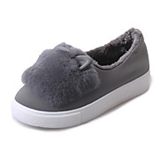 Women's Flats Fall / Winter Flats Leatherette Outdoor / Casual Flat Heel Others Black / Gray Others