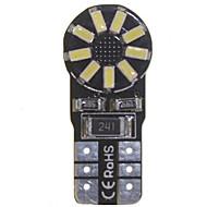 10 x 149 T10 W5W 2W 18x SMD 3014 żarówka błąd szyny CAN darmo manometr oświetlenie wnętrza kopuły (6000 - 6500 K DC 12 - 16V)