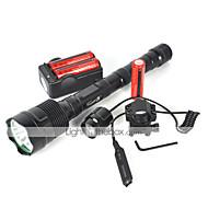 Iluminação Lanternas LED LED 6000 Lumens 1 Modo Cree XM-L T6 18650.0Campismo / Escursão / Espeleologismo Ciclismo Viajar Multifunções