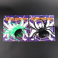 Zabawki 2szt halloween nabrać nowego pająk wspina pluszowy świecenia kij okna 5cm