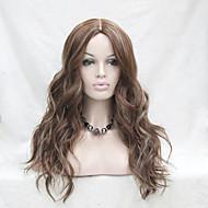 hochwertige hitzebeständige synthetische Karamel mit blonden wellige Spitze Front Perücke