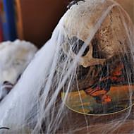 populairste grappige plastic spinnenweb katoen voor Halloween party decoratie bar scene props