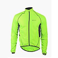 NUCKILY® Fahrradjacke Herrn Langärmelige Fahhrad Wasserdicht / Windundurchlässig / Reißverschluß vorne / tragbarJacke / Windjacken /