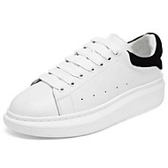 Men's Flats Spring Summer Leather Casual Flat Heel Others White Other