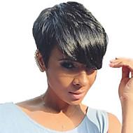 Natural Wavy  short human hair wigs for  woman