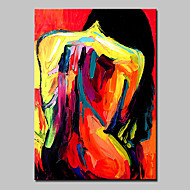 Hand-Painted Sexy Nude Women Oil Painting On Canvas Wall Art For Home Decoration With Stretched Frame Ready To Hang