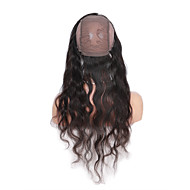 360 Lace Band Frontal Closures body wave Ear To Ear Lacel Closures With Baby Brazilian Virgin Human Hair Lace Closure
