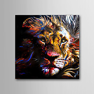 High Skills Artist Hand-painted Tiger Oil Painting On Cavas With Frame Abstract Painting For Office Decoration