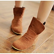 Women's Boots Spring / Fall / Winter Combat Boots PU Outdoor Flat Heel Others Black / Brown / Others