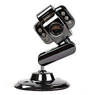 metal usb webcam 12 megapixel hd webkamera 6 cam førte til computer pc laptop notebook