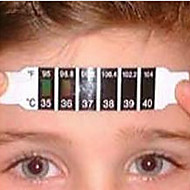 2016 New High Quality 5pcs x Forehead Head Strip Thermometer Fever Body Baby Child Kid Test Temperature Hot Selling