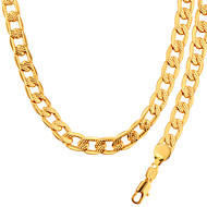 Fashion Jewelry Wholesale Men & woman Necklace & Bracelet Jewelry 18K Gold Plated NB60041