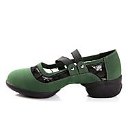 Sapatos de Dança(Preto / Verde / Vermelho) -Feminino-Não Personalizável-Moderna / Botas de dança