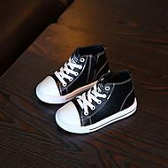 Boy's Sneakers Spring / Fall Closed Toe Microfibre Athletic / Casual Flat Heel Zipper / Lace-up  Sneaker