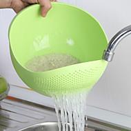 cor 1pc aleatória culinária frutos do ambiente doméstico lavar os pratos multifunções cesta bacia aad