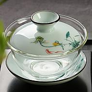 1PC Design Is Random Slap-Up Atmospheric Family Entertainment Glass Tea set Seven-Piece Cup Teapot