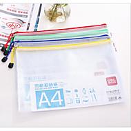 papírový sáček průhledná plastová síťka na zip