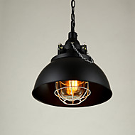 Max 60W Retro Simple Loft Pendant Lights Metal Dining Room Kitchen Bar Cafe Hallway Balcony Light Fixture