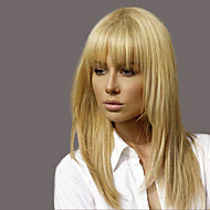 Enchanting  Ethereal Bangs Long Hair Woman Hair Human Hair Wig