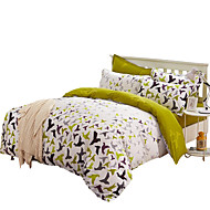 Mingjie Wonderful Green Secret Wish Bedding Sets 4PCS for Twin Full Queen King Size from China Contian 1 Duvet Cover 1 Flatsheet 2 Pillowcases
