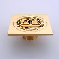 Viemäri / Kylpyhuoneen laitteet / Antiikkinen kupari0CM /Ruostumaton teräs /Antiikkinen /10 10 0.15