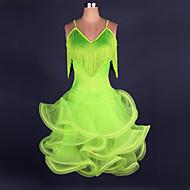 Cosplay Kostüme Mehre Kostüme Fest/Feiertage Halloween Kostüme Grün / Gelb einfarbig / Spitze Kleid Halloween / Weihnachten / Karneval