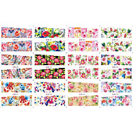 12 designs ,12 different images Nail Art Sticker Watertransfer decals make-up Cosmetische Nail Art Design
