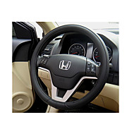 Super Fiber Leather Suction Sweat Permeable Automobile Steering Wheel Cover