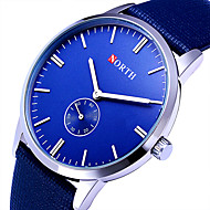 Mulheres Relógio Esportivo Relógio Militar Relógio Elegante Relógio de Moda Relógio de Pulso Quartzo Colorido Couro Banda Vintage Legal