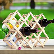 Stojany na víno Dřevo,44*43*31CM Víno Příslušenství
