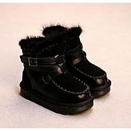 לבנות-מגפיים-סוויד-נוחות-שחור / אפור-קז'ואל