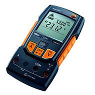 testo 760-1 digitális univerzális mérő (fekete és sárga testo 760-1 (küldés eszköz csomag))