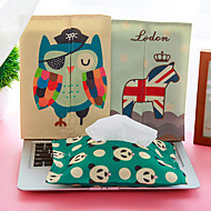 Towel Sets Cartoon Cotton Covers Tissue (Random Colours)