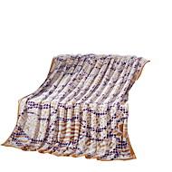 Flanela Multi Cores,Sólido Xadrez 100% Poliéster cobertores 200x230cm