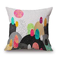 1 個 ポリエステル 枕カバー,幾何学柄 / 静物 / グラフィック コンテンポラリー / 装飾