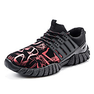 Men's Athletic Shoes / Running Shoes / Fitness / Comfort / Outdoor / Athletic / Casual Blue / Silver / Red /