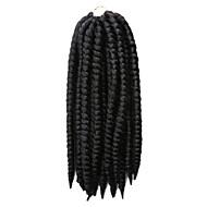 Havanna Twist Braids Haarverlängerungen 12Inch Kanekalon 12 Strands (Recommended Buy 4-5 Packs Full Head) Strand 80g Gramm Haar Borten