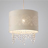 Luzes Pingente ,  Contemprâneo Rústico Outros Característica for Cristal Designers TecidoSala de Estar Quarto Sala de Jantar Quarto de