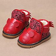 Bez podpatku-PU-První botičky-Chlapecké-Modrá / Červená-Běžné