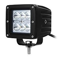 במקום ערפל הוביל נהיגת שובל אור exled 18W עבור משאית ג'יפ הבר מחוץ לכביש
