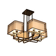 Modern/Comtemporary Pendant Lights 8 Lights Fabric Shade Living Room Dining Room Bedroom Metal chandeliers light Fixture