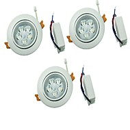 YouOKLight 3PCS 5W 5xLEDs Epistar  450lm  White/Warm White Ceiling Lamp  (AC 100-240V)