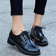 Women's Oxfords Others PU Casual Black Red