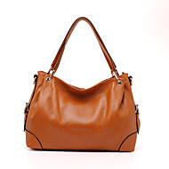 Women Cowhide Casual / Event/Party Tote Blue / Orange / Black