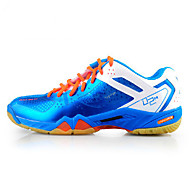 Unisex Athletic Shoes Fall Comfort Tulle Athletic Platform Lace-up Blue Red White Badminton