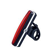 자전거 라이트 / 안전 등 LED LED 싸이클링 컴팩트 사이즈 / 슈퍼 라이트 리튬 배터리 100 루멘 USB 레드 사이클링-조명
