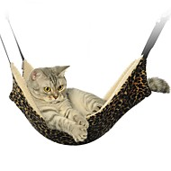 Portable Black/Zebra/Leopard Pets Hammock for Pets Cage for Pets Dogs and Cats
