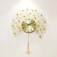 מודרני / עכשווי בתים שעון קיר,אחרים אקרילי / אלומיניום / מתכת 60*80cm בבית שָׁעוֹן