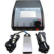 LCD 0.7 tomada potência profissional Foot Switch Tatuagem digital